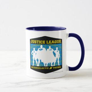 Gerechtigkeits-Liga-intergalaktische Patrouille Tasse