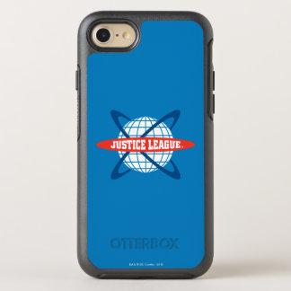 Gerechtigkeits-Liga-Kugel-Logo OtterBox Symmetry iPhone 8/7 Hülle