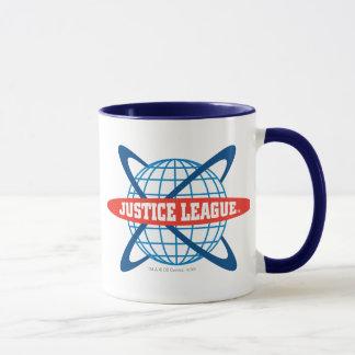 Gerechtigkeits-Liga-Kugel-Logo Tasse