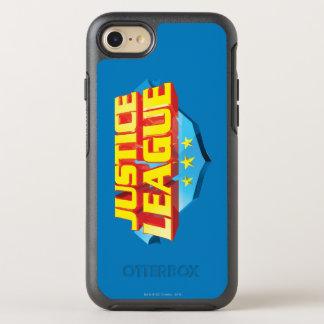 Gerechtigkeits-Liga-Name und Schild-Logo OtterBox Symmetry iPhone 8/7 Hülle