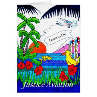 Gerechtigkeits-Luftfahrt: Lernen Sie zu fliegen Karte