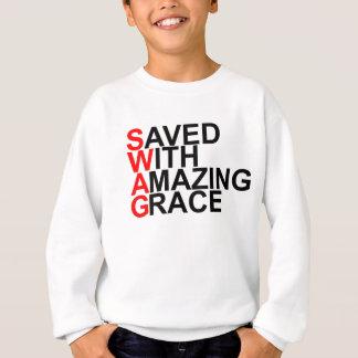 Gerettet mit fantastischem (SWAG) Grace.png Sweatshirt