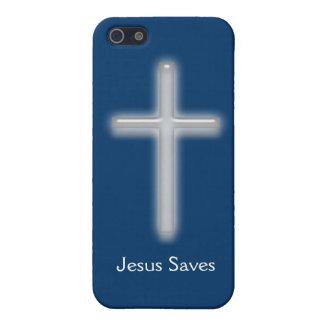 Gerettete-Weißes Kreuz Jesuss Schutzhülle Fürs iPhone 5