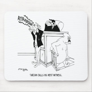 Gerichts-Cartoon 5490 Mousepads