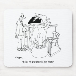 Gerichts-Cartoon 5621 Mousepads
