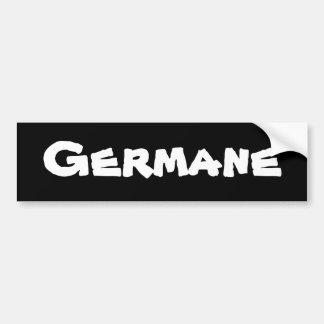 Germane Autoaufkleber