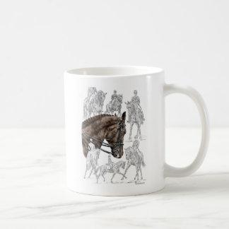 Gesammelte Dressage-Pferde FEI Tasse