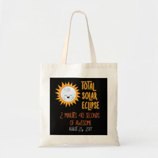 Gesamtsolareklipse Emoji Taschen-Tasche Tragetasche