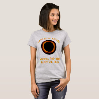GesamtSonnenfinsternis (Kearney, Nebraska) T-Shirt