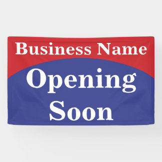 Geschäft Banner