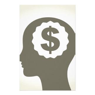 Geschäft ein Kopf Personalisierte Druckpapiere