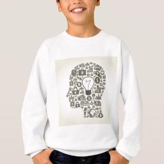 Geschäft ein Kopf Sweatshirt