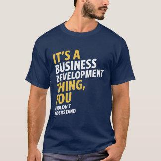 Geschäftliche Entwicklung T-Shirt