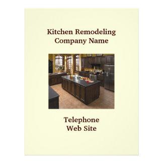 Geschäfts-Flyer der Küchen-Remodeler5 21,6 X 27,9 Cm Flyer