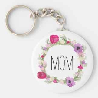 Geschenk-BlumenKranz Keychain der Mutter Tages Schlüsselanhänger