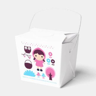Geschenkboxen mit Hand-gezeichneter Kunst Geschenkschachtel