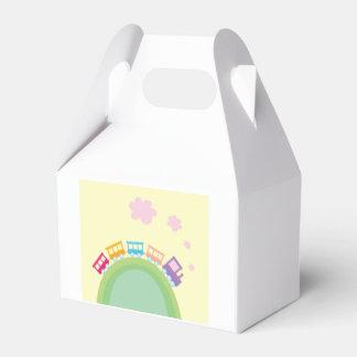 Geschenkboxen mit Kinderzug Geschenkschachteln