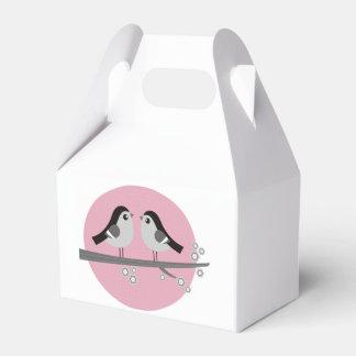 Geschenkhochzeitskasten mit Liebevögeln Geschenkschachteln