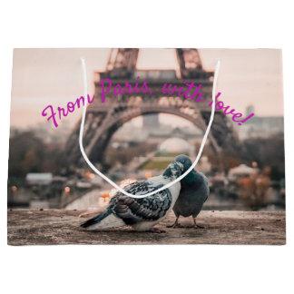 Geschenktasche Paris, Frankreich Große Geschenktüte