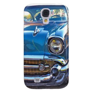 Geschickte Fünfzigerjahre im Blau Galaxy S4 Hülle