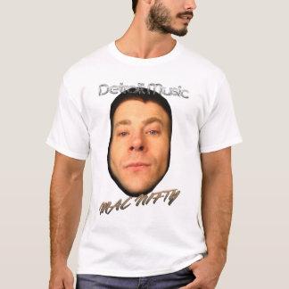 GESCHICKTES weißes Shirt Detroit-Musik MAC