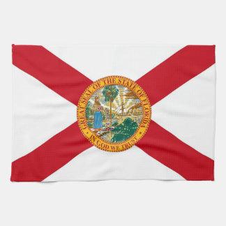 Geschirrtuch mit Flagge von Florida, USA