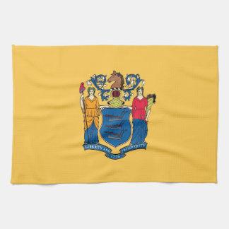 Geschirrtuch mit Flagge von New-Jersey, USA