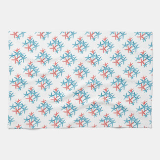 Geschirrtuch Starfish-Schneeflocke Weihnachten