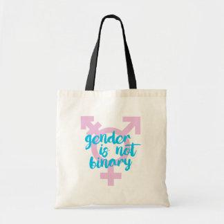 Geschlecht ist nicht binär - Transport-Symbol - - Tragetasche