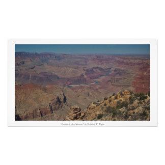 """Geschnitzt durch das Colorado,"" Grand Canyon Kunst Fotos"