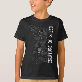 Geschöpf des Shirts grauen der Skala der