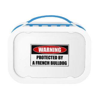 Geschützt durch eine französische Bulldogge Brotdose