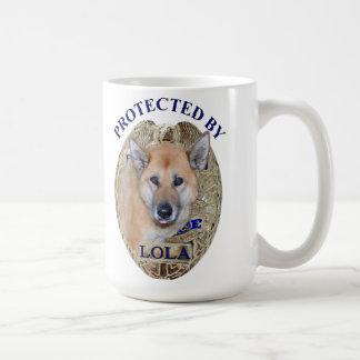 Geschützt durch Lola Kaffeetasse