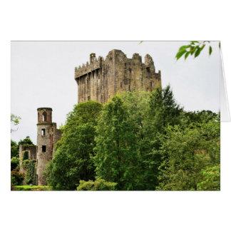 Geschwätz-Schloss, Irland Grußkarte