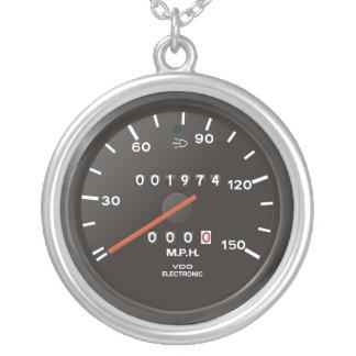 Geschwindigkeitsmesser des Klassikers 911 (altes Versilberte Kette