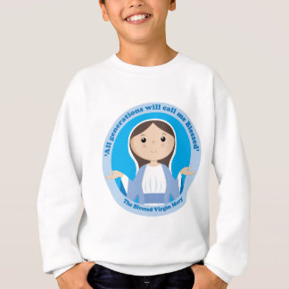Gesegnete Jungfrau Mary Sweatshirt