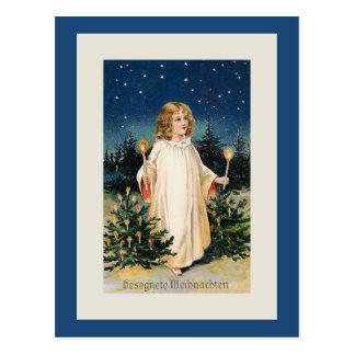 """""""Gesegnete Weihnachten"""" Vintage Weihnachtskarte Postkarte"""