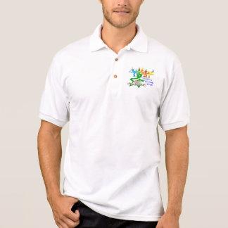 Geselliges barmherziges polo shirt
