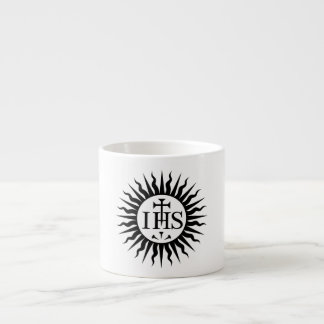 Gesellschaft von Logo Jesuss (Jesuite) Espresso-Tasse