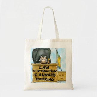 Gesetz der Anziehungskraft Taschen-Tasche immer Tragetasche