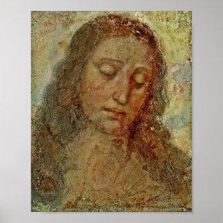 Gesicht von Christus Poster