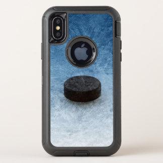 Gesicht-Weg (Hockey) OtterBox Defender iPhone X Hülle