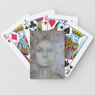Gesichter Bicycle Spielkarten