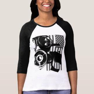 Gesichts-Palmen-das Shirt der Retro