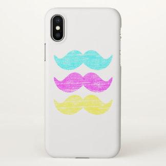 Gesichtshaar-Schnurrbart-Farben iPhone X Hülle