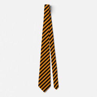 Gespenstische Halloween-Streifen Individuelle Krawatten
