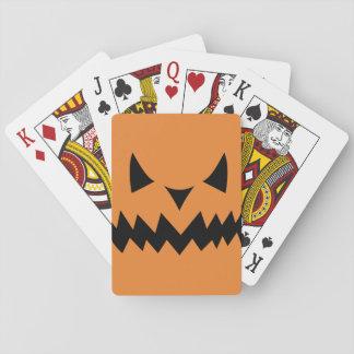 Gespenstisches Gesichts-Spielkarten Spielkarten
