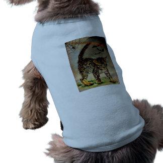 Gespenstisches Halloween Ärmelfreies Hunde-Shirt
