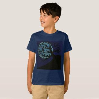 Gespenstisches Raben-Kindert-shirt T-Shirt