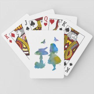 Gespräch mit einer Raupe Spielkarten